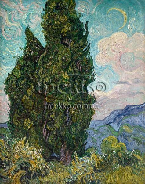 Картина Кипариси, Вінcент ван Гог  Херсон