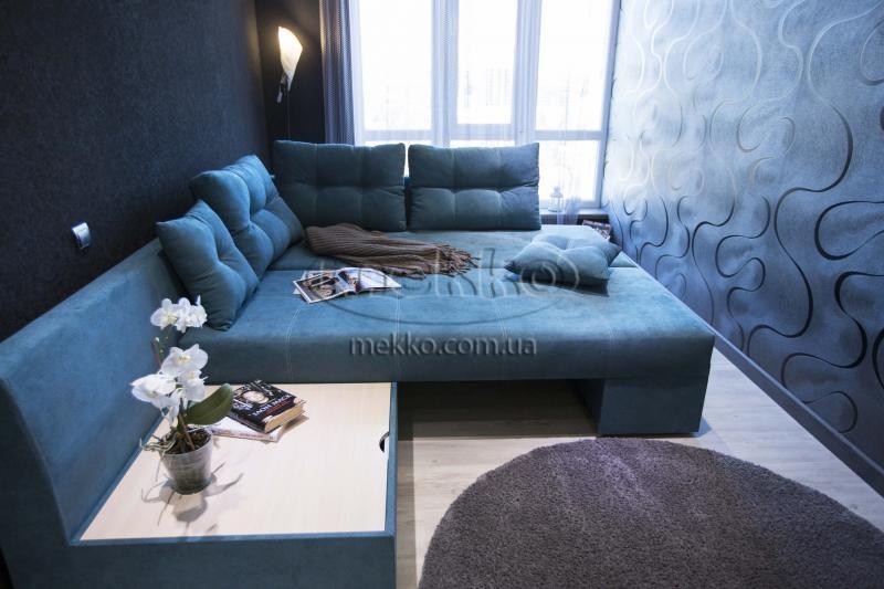 Кутовий диван з поворотним механізмом (Mercury) Меркурій ф-ка Мекко (Ортопедичний) - 3000*2150мм  Херсон-4