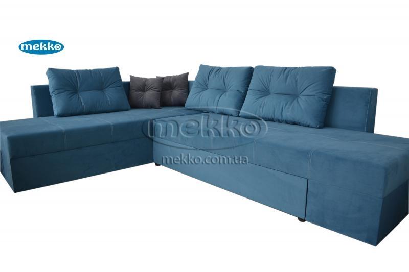 Кутовий диван з поворотним механізмом (Mercury) Меркурій ф-ка Мекко (Ортопедичний) - 3000*2150мм  Херсон-11