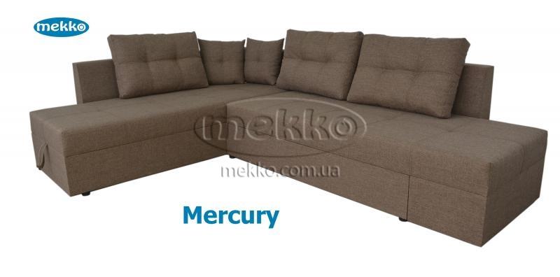 Кутовий диван з поворотним механізмом (Mercury) Меркурій ф-ка Мекко (Ортопедичний) - 3000*2150мм  Херсон-12