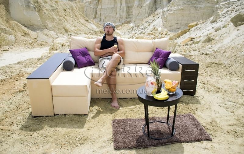 Ортопедичний кутовий диван Cube Shuttle NOVO (Куб Шатл Ново) ф-ка Мекко (2,65*1,65м)  Херсон-6