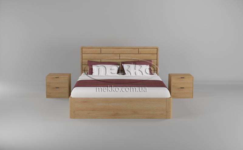 Ліжко Лауро з Підйомником (масив бука /масив дуба) T.Q.Project  Херсон-4