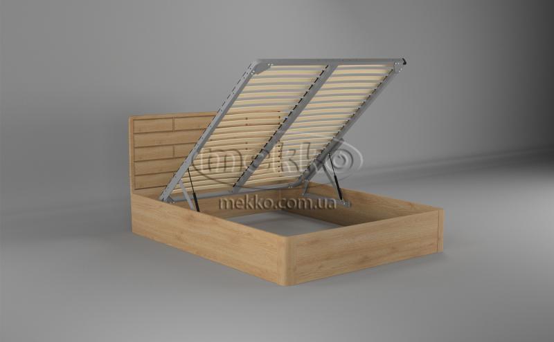 Ліжко Лауро з Підйомником (масив бука /масив дуба) T.Q.Project  Херсон-2