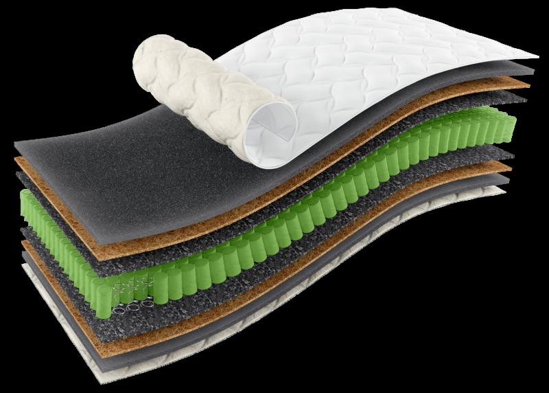Ортопедичний матрац Omega Sleep&Fly Organic   Херсон
